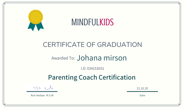 Parenting Coach Certification